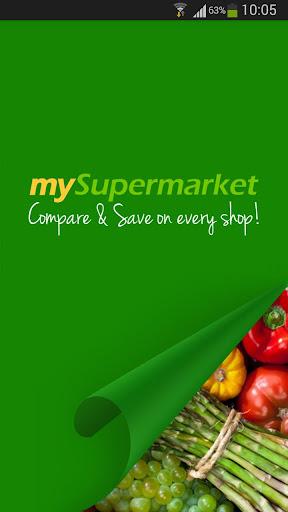 mySupermarket – Shopping List screenshot
