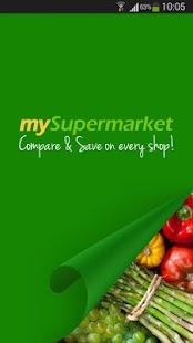 mySupermarket – Shopping List - screenshot thumbnail