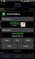 Screenshot of Call Finder Demo
