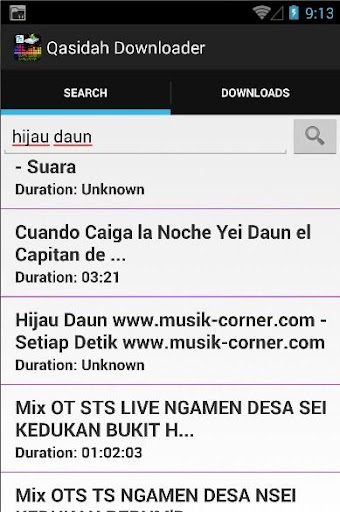 Qasidah Audio Downloader