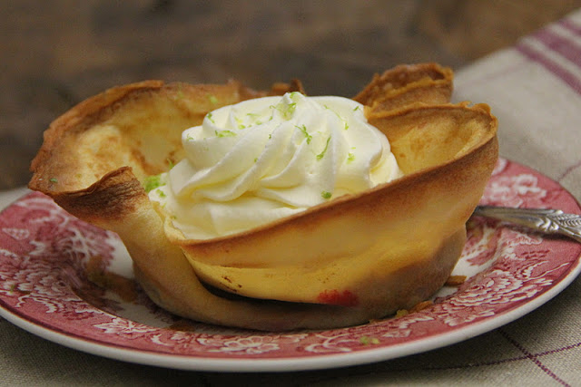 Crepe Tartlets with Raspberries and Whipped Cream Recipe