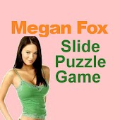 Megan Fox Slide Puzzle Game