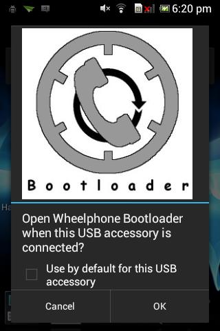 Wheelphone bootloader