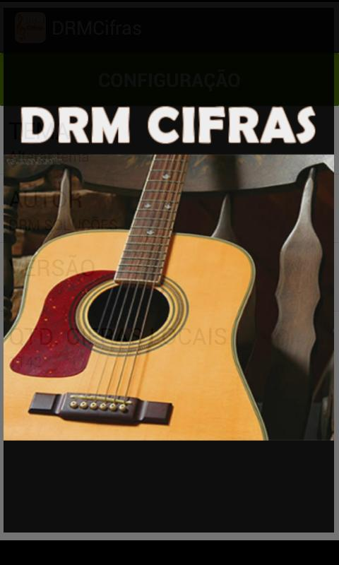 DRM Cifras - screenshot