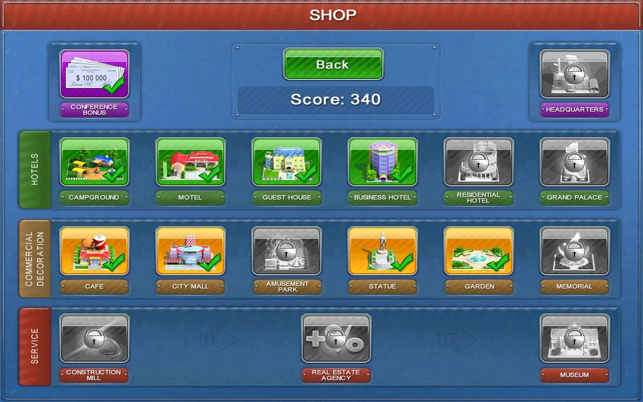 Hotel Mogul Tablet - screenshot
