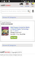 Screenshot of Rediff Shopping