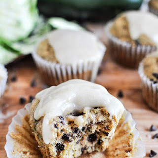 Whole Wheat Zucchini Banana Chocolate Chip Muffins