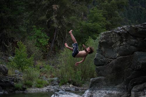 Forward Flip by Scott Morgan - Babies & Children Children Candids ( water, jumping, forward, swim, flipping, diving, boy, flip, swimming, river, jump,  )