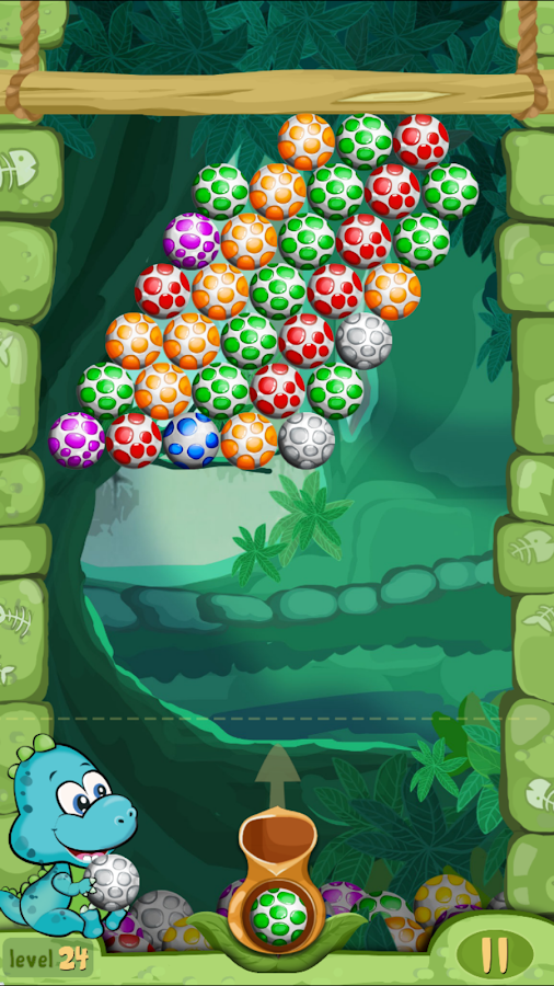 Shoot Dinosaur Eggs- screenshot
