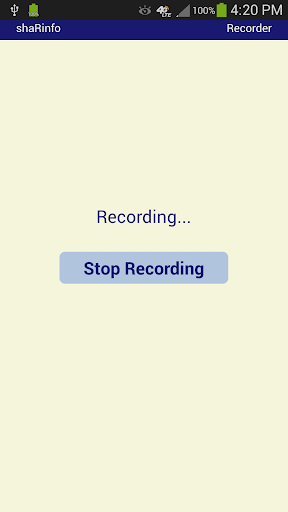 MP3 Play and Record