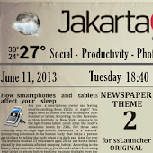 Newspaper 2 Theme ssLauncher