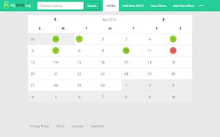 Screenshot of My WOD Log Pro