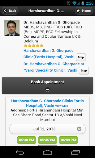 Dr Harshavardhan appointments