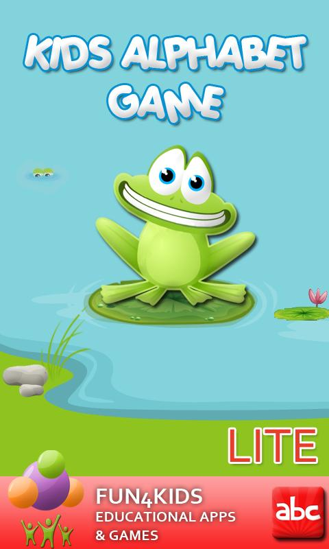 Kids Alphabet Game Lite - screenshot