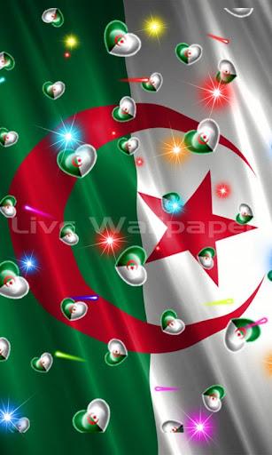 Algeria Flag Heart