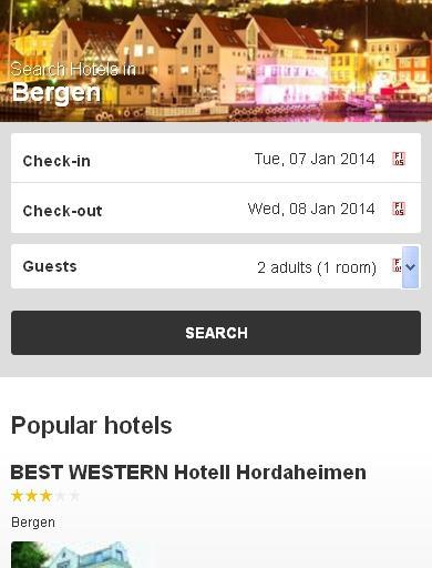 Bergen Hotel booking