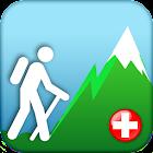 Hiking Map Switzerland icon