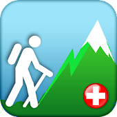 Hiking Map Switzerland