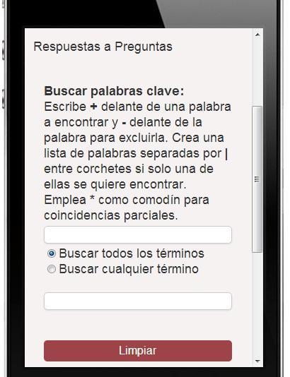 Respuestas - screenshot