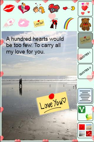 Cards for Lovers- screenshot