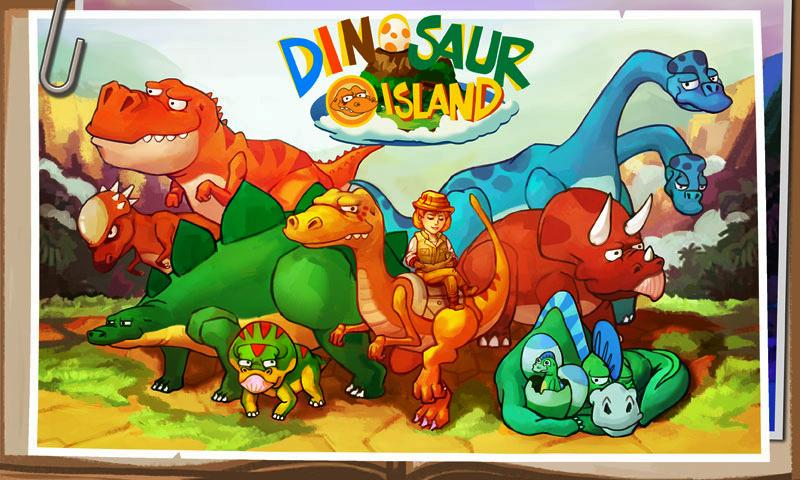 Dino Island- screenshot
