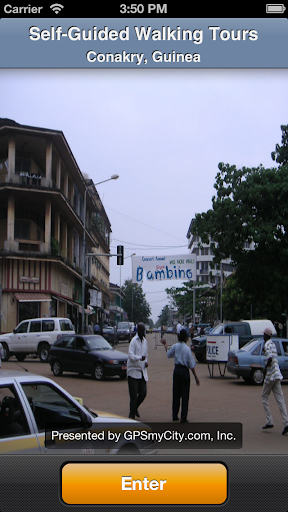 Conakry Map and Walks