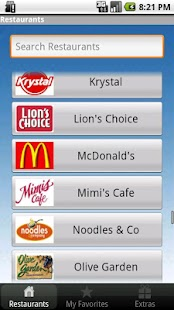 Under 600 Calories : Fast Food - screenshot thumbnail