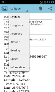Latitude & Longitude - screenshot thumbnail