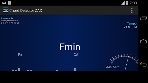 【免費音樂App】ZAX Chord detector 和弦-APP點子
