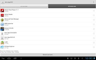 Screenshot of Auto App2SD