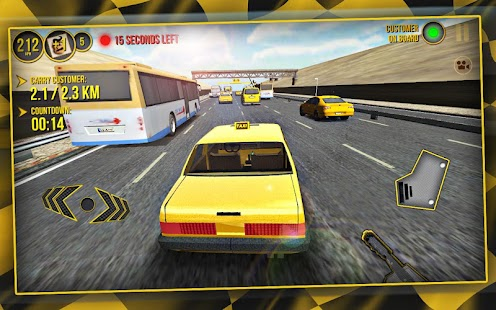 Taxi Car Simulator 3D- screenshot thumbnail