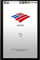 Screenshot of BofA Health