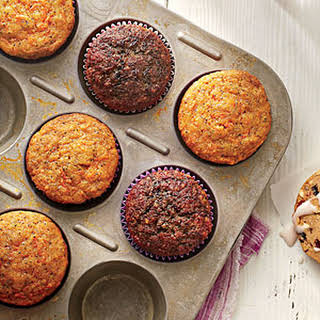 Carrot-Poppy Seed Muffins.