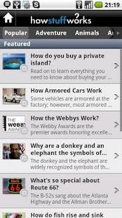 HowStuffWorks - screenshot thumbnail