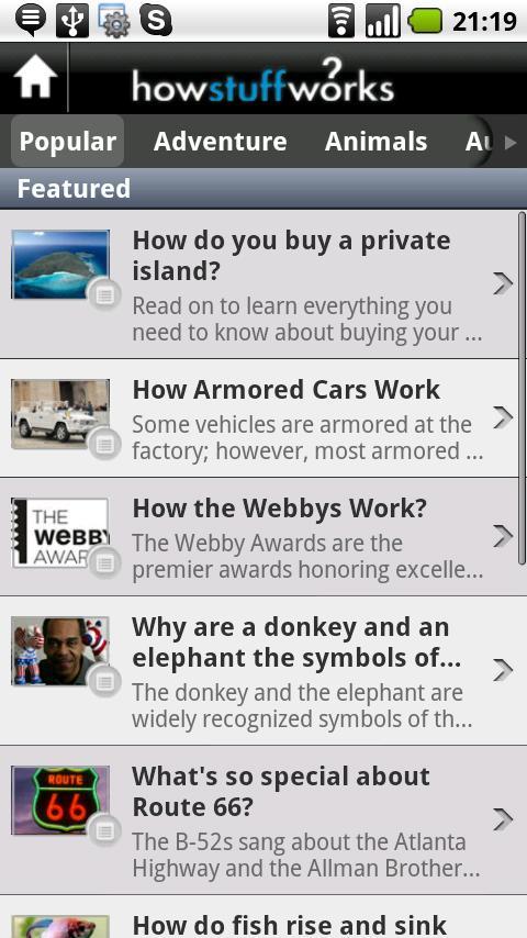 HowStuffWorks - screenshot