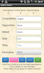 Soccer Team Tracker screenshot 1