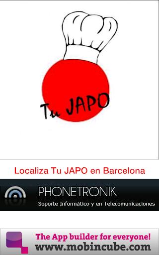 バルセロナでのJAPO
