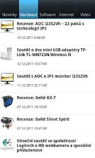 PC World CZ- screenshot thumbnail