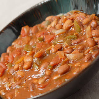 Thick and Hearty Pinto Bean Chili.
