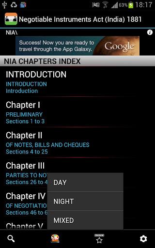 NIA Negotiable Instruments Act