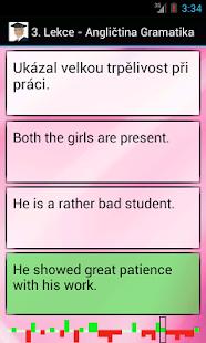 Angličtina - Gramatika Screenshot 2