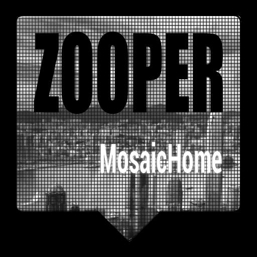 MosaicHome Zooper Theme 個人化 App LOGO-硬是要APP