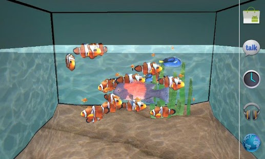 3D Aquarium LWP - screenshot thumbnail