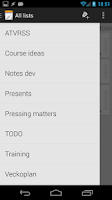 Screenshot of NoNonsense Notes