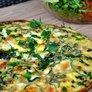 Spring Vegetable Frittata.
