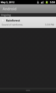 Rainforest. White Noise - screenshot thumbnail