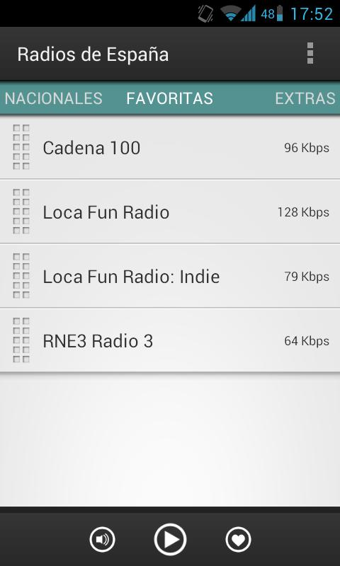 Radios de España (Spain)- screenshot