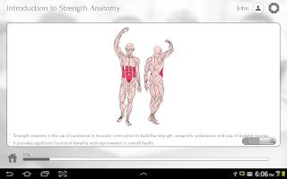 Screenshot of Strength Anatomy