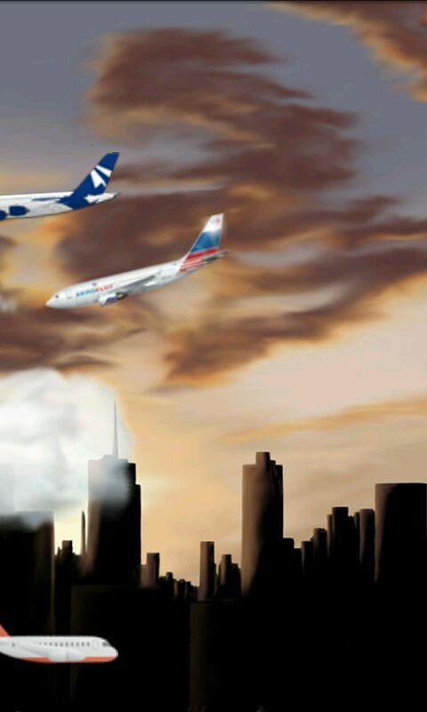 Planes Live Wallpaper (Free)- screenshot