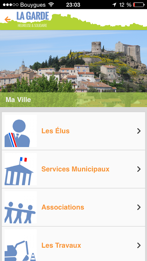 Ville de la garde applications android sur google play for Piscine la garde